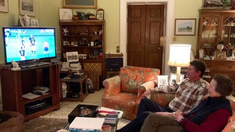 La princesa Ana muestra su sorprendente sala de estar (nada majestuosa): la analizamos