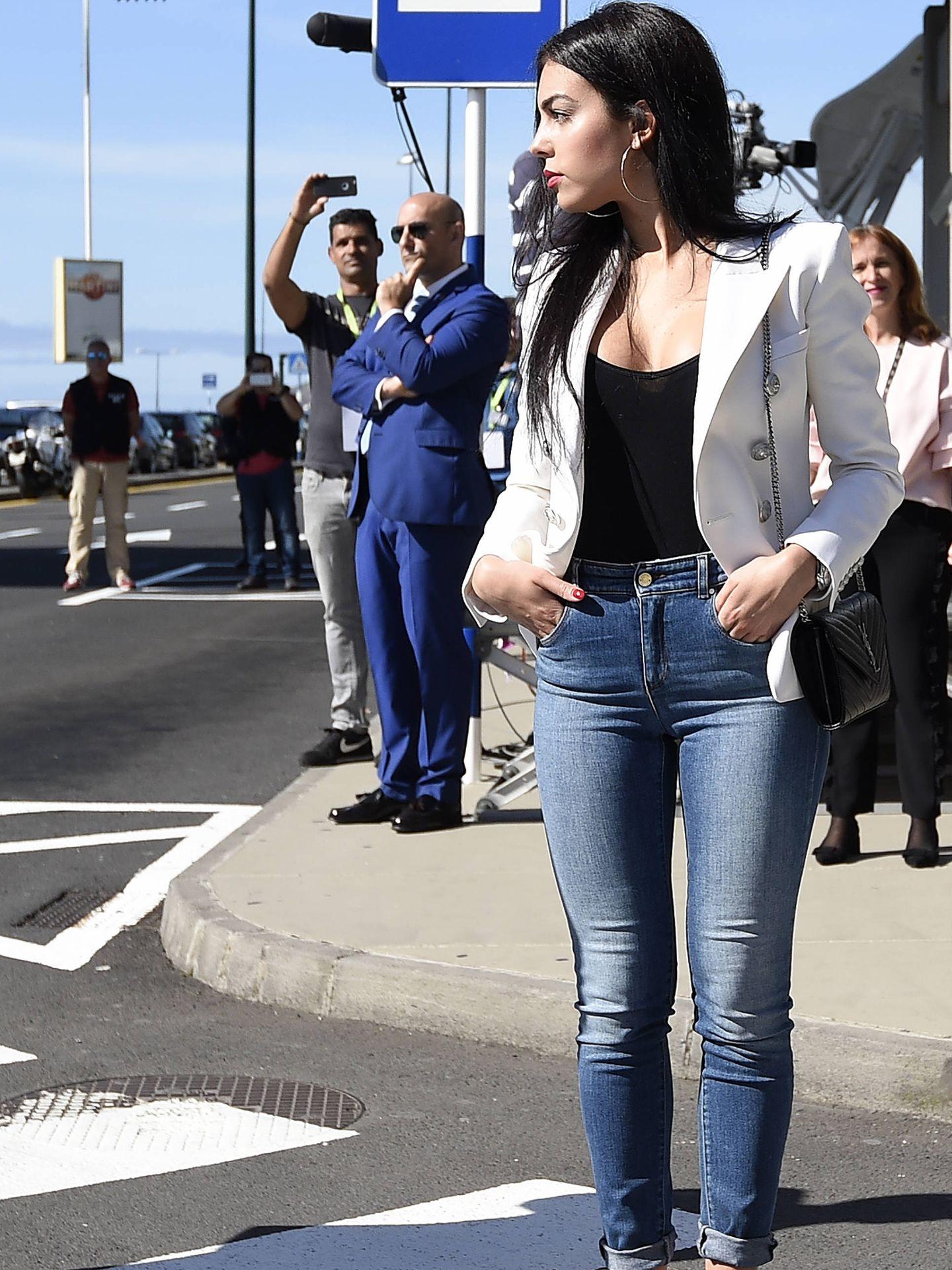 Georgina, foco de atención en Madeira. (Getty)