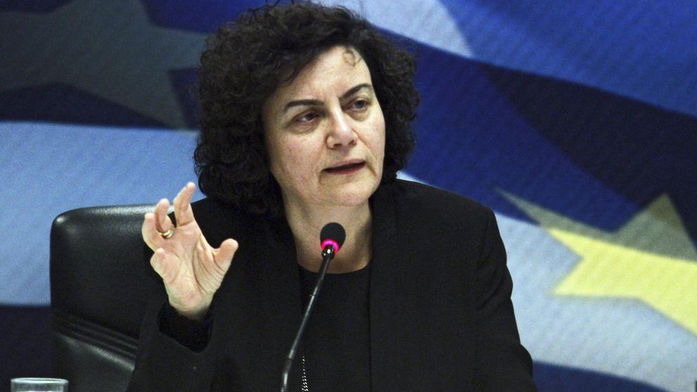 Dimite la viceministra de Finanzas griega para no apoyar 'medidas inútiles'