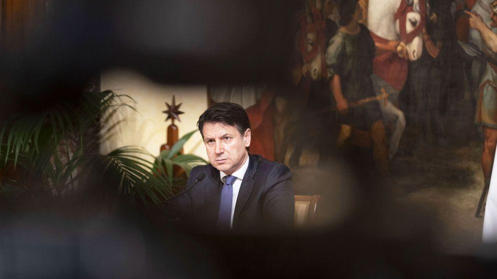 Foto: El primer ministro italiano, Giuseppe Conte. (EFE)