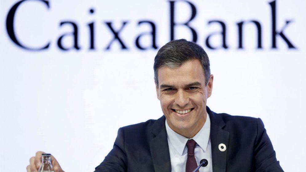 Foto: Pedro Sánchez durante su intervención en el Círculo de Economía de Sitges. (EFE)