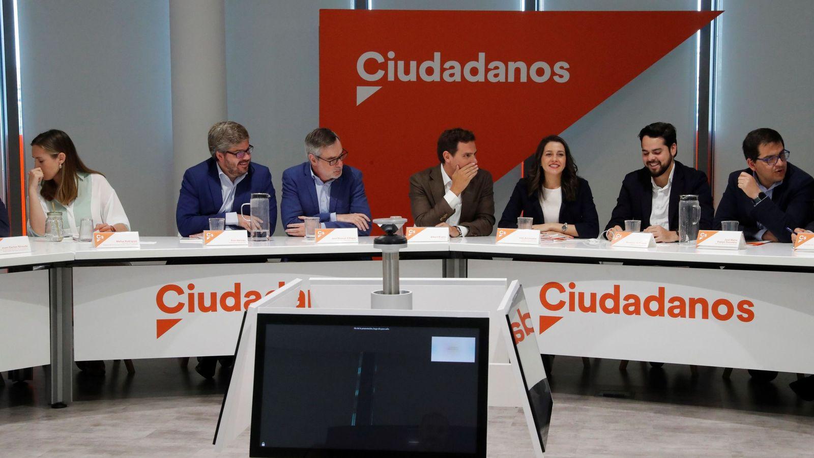 Foto: Ciudadanos reúne a su ejecutiva nacional este lunes. (EFE)