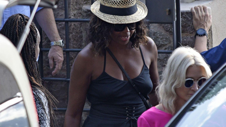 Michelle Obama, de visita en Mallorca. (EFE)