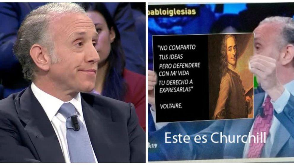 Las redes se mofan de Eduardo Inda por equivocarse en 'La Sexta Noche'