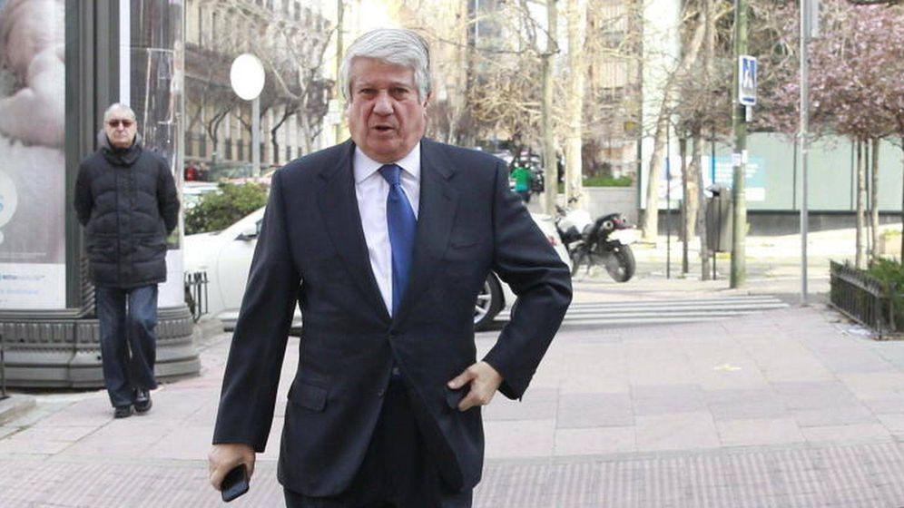 Foto: El expresidente de la Cámara de Comercio de Madrid, Arturo Fernández.  (EFE)