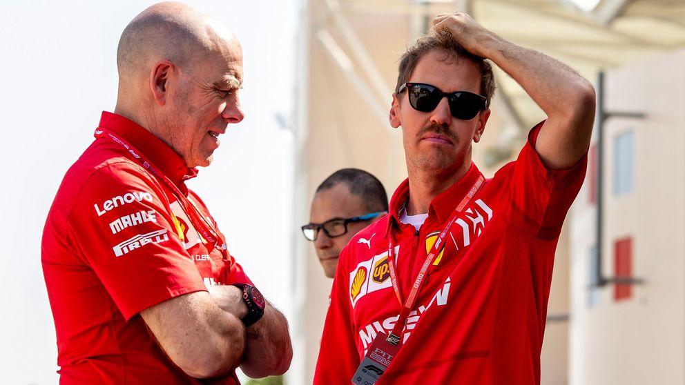 La incomodidad de Sebastian Vettel en un Ferrari que pide guerra