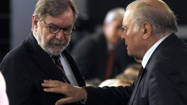 Foto: Juan Luis Cebrián, presidente del Grupo Prisa, lidera el ranking salarial del sector (EFE).