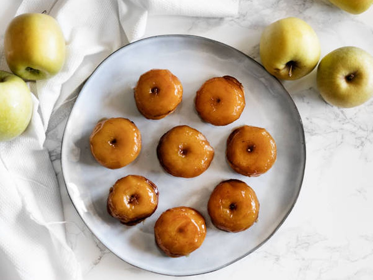 Foto: Tatins de manzana. (Snaps Fotografía)