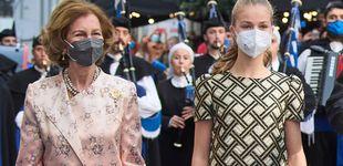 Post de El efusivo beso de la reina Sofía a Leonor y otros 7 gossip de los Princesa de Asturias