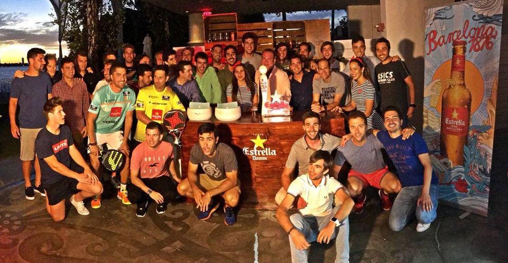 Foto: Una foto para la historia con todos los participantes. (World Padel Tour)