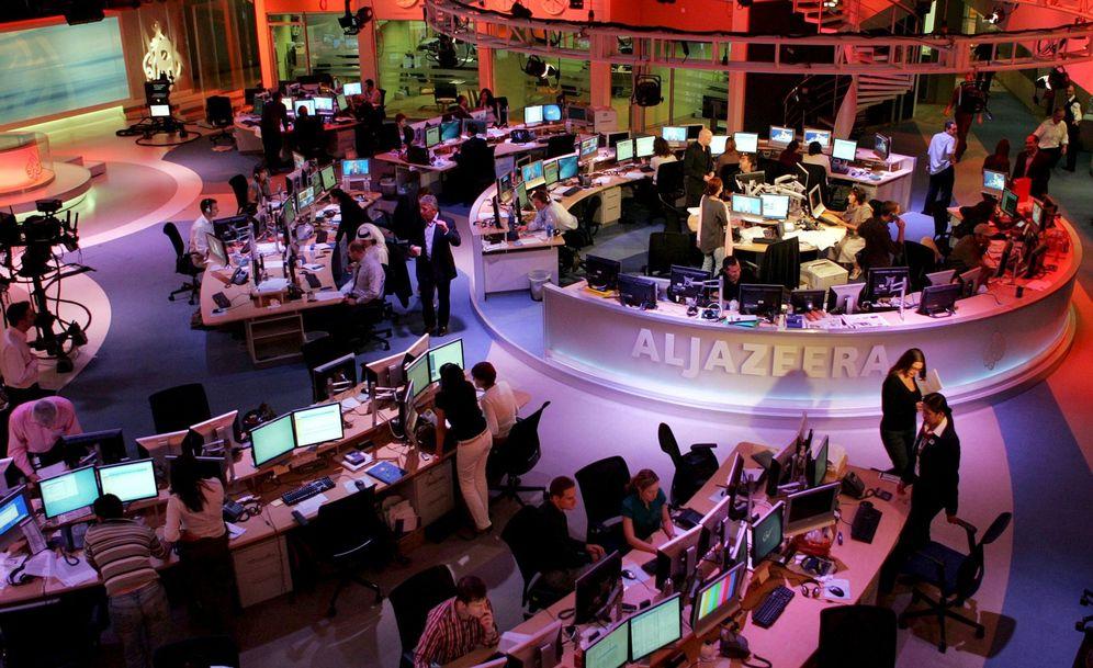 Foto: Imagen de archivo de la sede de Al Jazeera en Doha, Qatar, en noviembre de 2006. (Reuters)