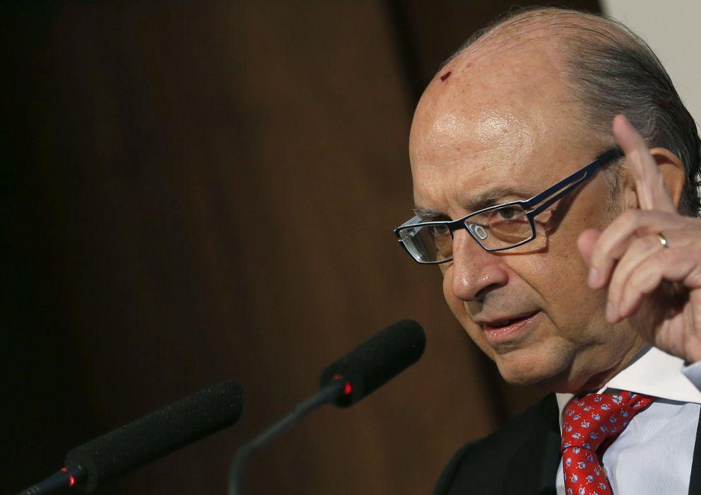 Foto: El ministro de Hacienda y Administraciones Públicas, Cristóbal Montoro,. (EFE)