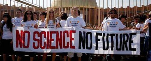 Foto: Las científicos le declaran la guerra a los recortes