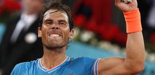 Post de Huracán Nadal: abusa de Wawrinka y ya está en semis de Madrid