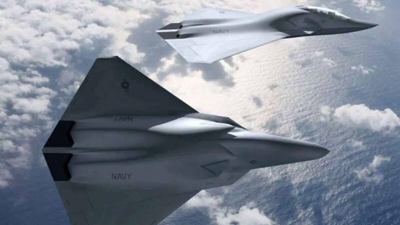 Otra visualización del caza de sexta generación propuesto por Boeing
