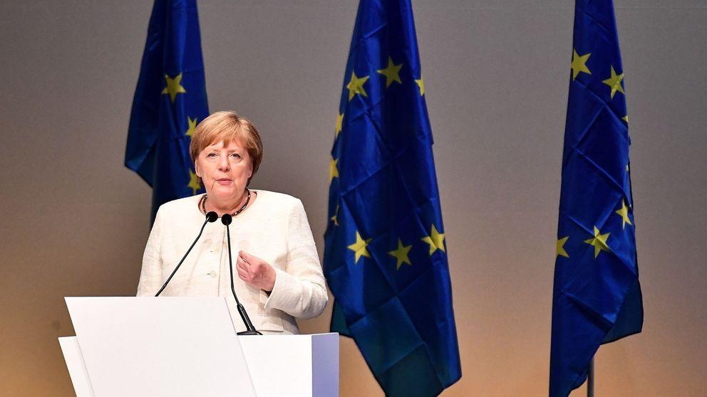 Elecciones europeas: la coalición de Angela Merkel obtendría un 27,5% de los votos
