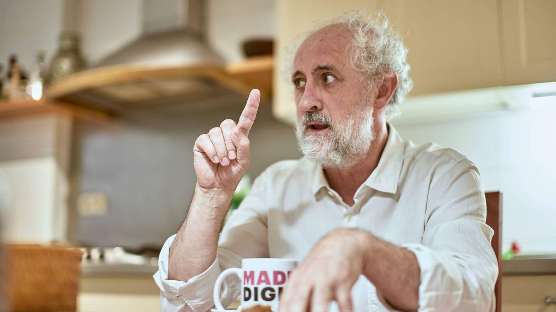 Foto: Luis Cueto, durante un momento de la entrevista. (Jorge Álvaro Manzano)