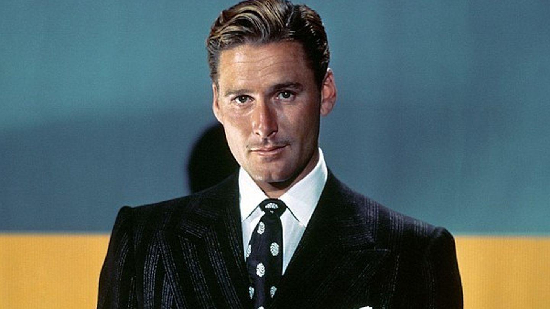 Errol Flynn, en sus años de galán de Hollywood. (CP)