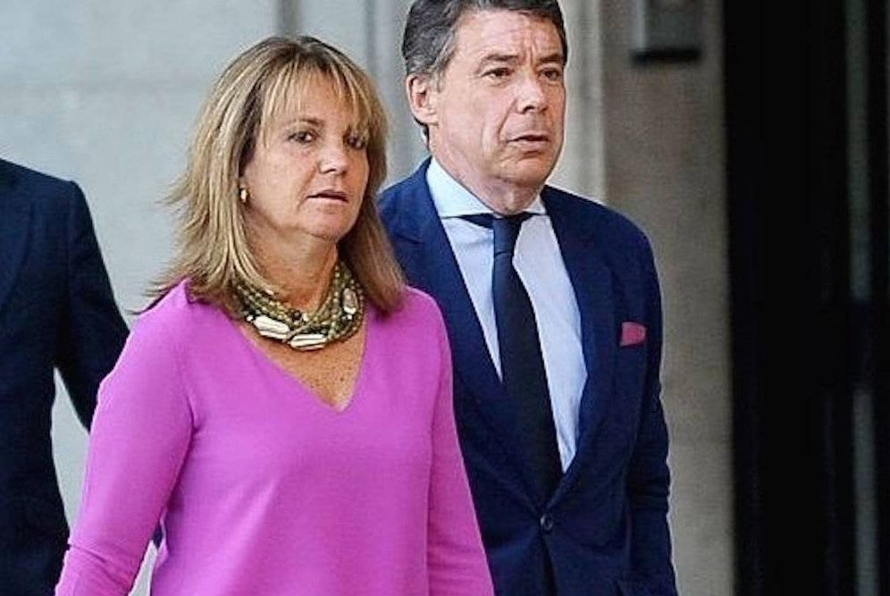 Foto: Lourdes Cavero e Ignacio González. (EFE)