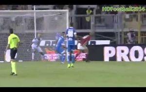 El primer gol de Torres en el Calcio