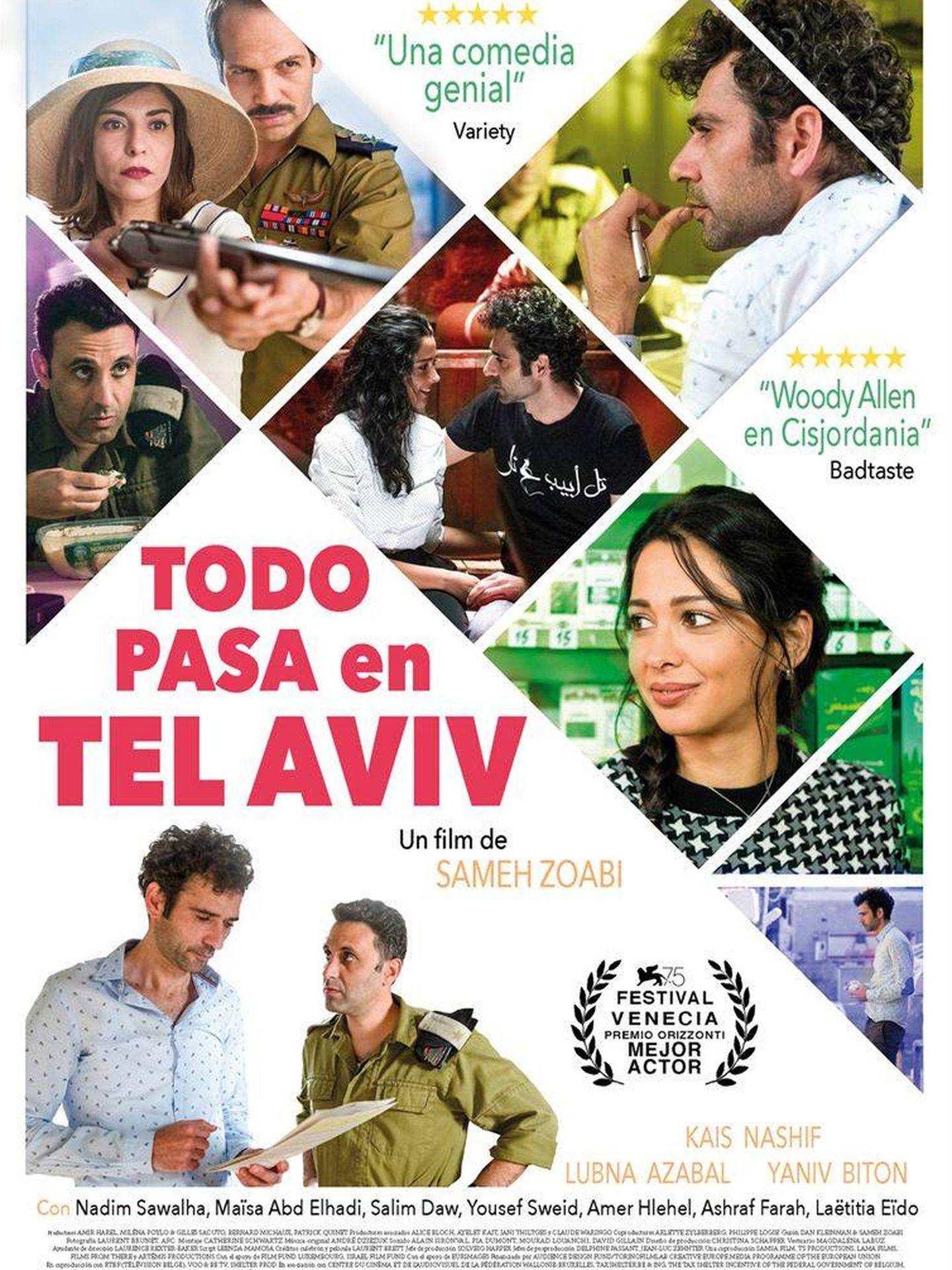 Cartel de 'Todo pasa en Tel Aviv'.