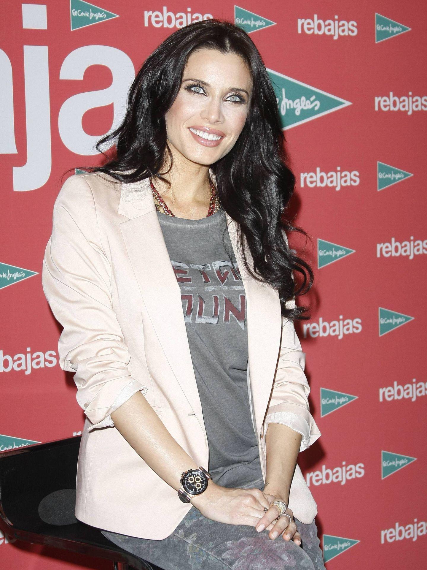Pilar Rubio, imagen en las rebajas de El Corte Inglés.(Cordon Press)