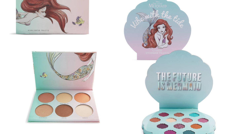 Dos paletas que te encantarán de 'La Sirenita'. (Cortesía)