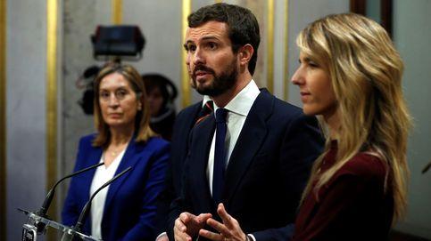 Casado sigue 'cuidando' a Cs: le presta un senador para tener grupo... y subvenciones