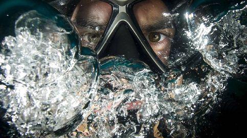 Gafas de buceo para hacer snorkel y submarinismo en mares y oceanos