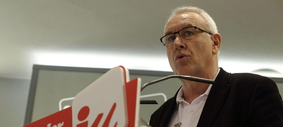 Foto: Cayo Lara anuncia que no será candidato a las próximas elecciones generales