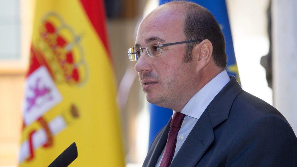 Foto: El expresidente del Gobierno de Murcia, Pedro Antonio Sánchez. (EFE)