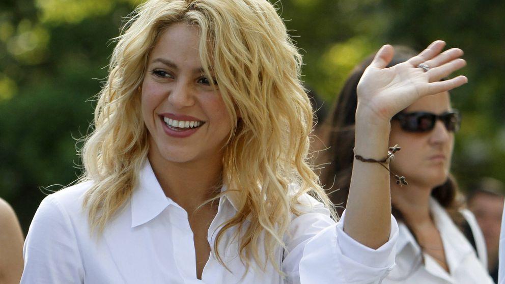 La euforia de Shakira tras el triunfo del Barcelona en la Champions League