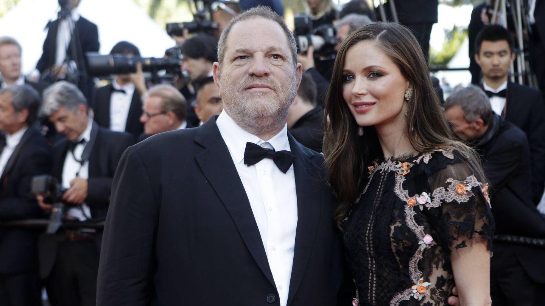 Harvey Weinstein junto a su mujer, Georgina Chapman. (Gtres)