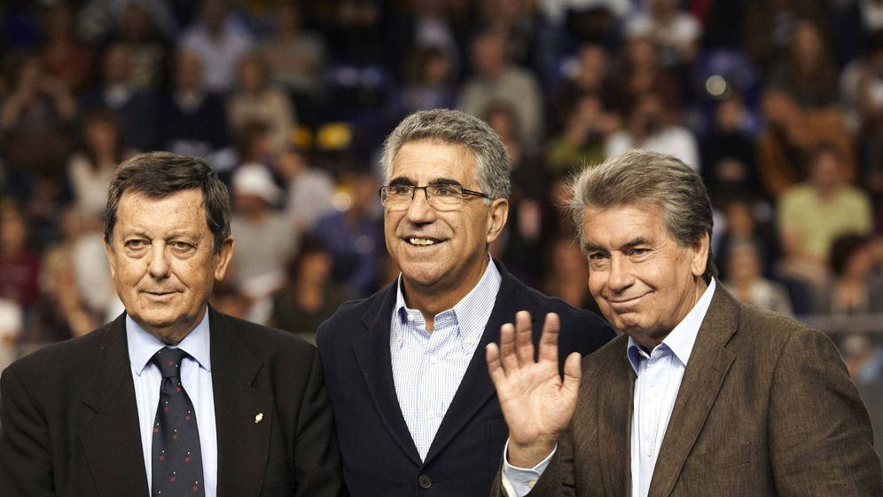 Foto: Manolo Orantes, junto a Manolo Santana. (EFE)