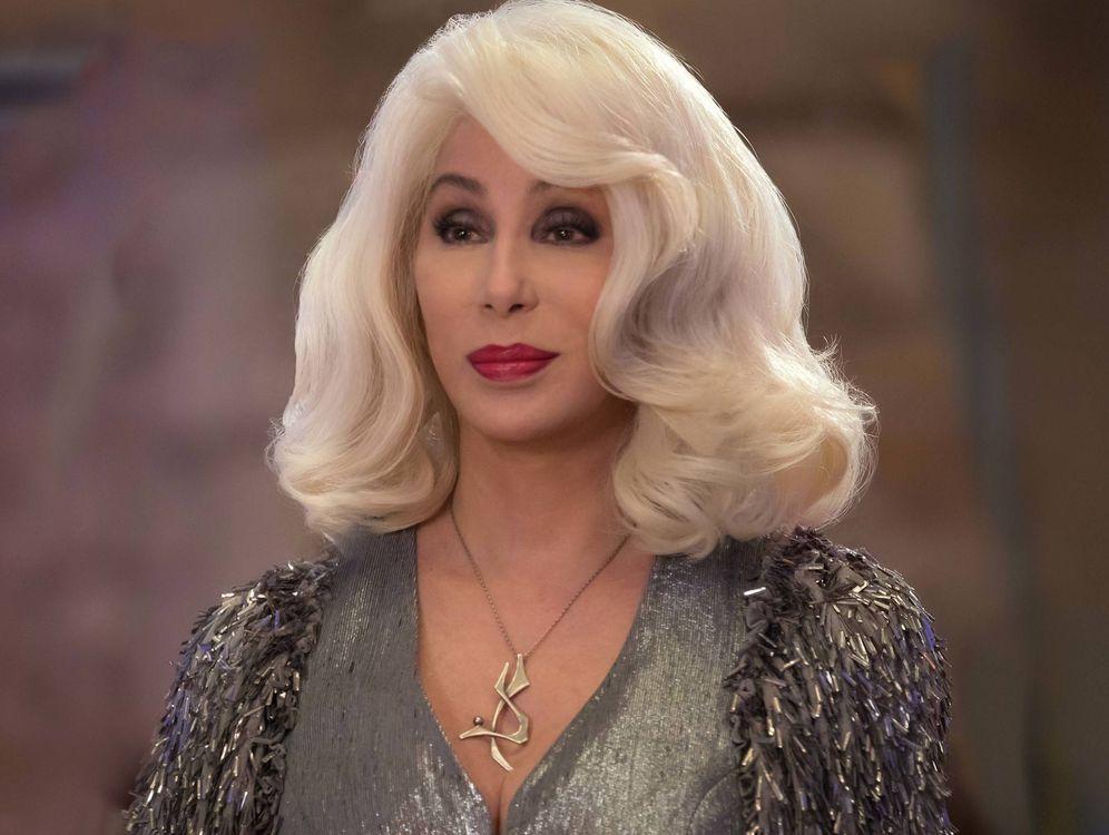 Foto: Cher en un fotograma de la secuela de 'Mamma Mia'. (Universal)