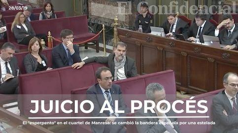 El esperpento en el cuartel de Manresa: así se cambió la bandera española por una estelada