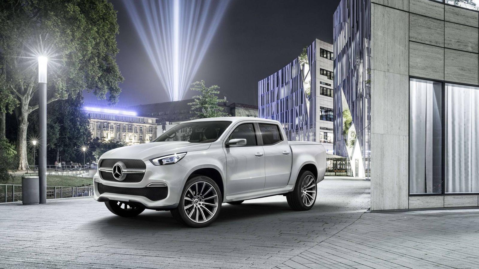 Foto: Mercedes Clase X, un pick-up de gama alta.