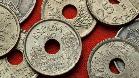 Por qué las monedas de 25 pesetas tenían un agujero y otras curiosidades numismáticas