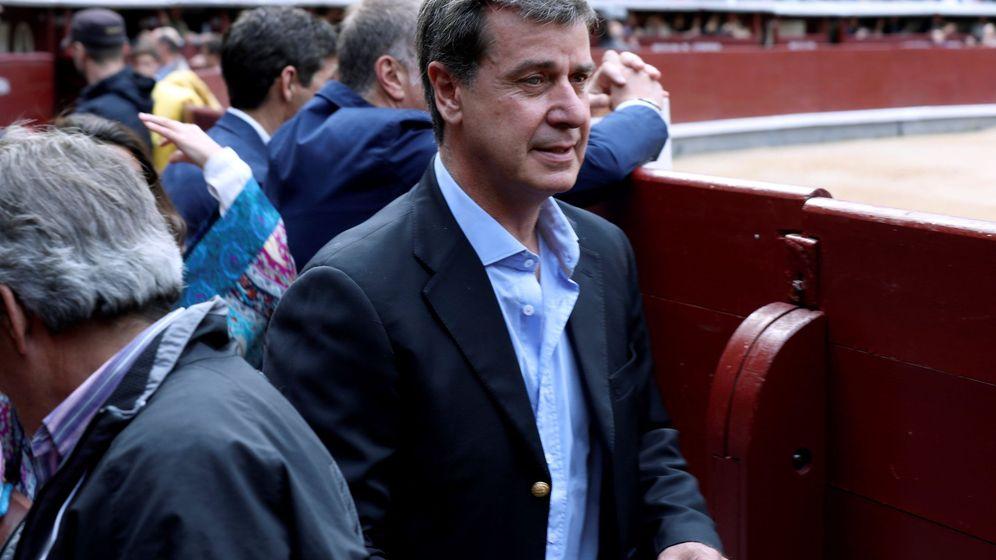 Foto: Cayetano Martínez de Irujo, en San Isidro. (EFE)