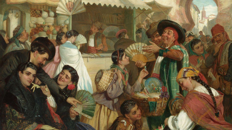 Tutankhamón, Rocío Jurado y los giros del pericón: la historia del abanico