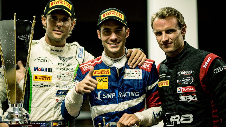 Andy, Miguel y Antonio.