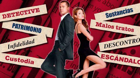 Los doce titulares internacionales más escandalosos del divorcio de Brad y Angelina