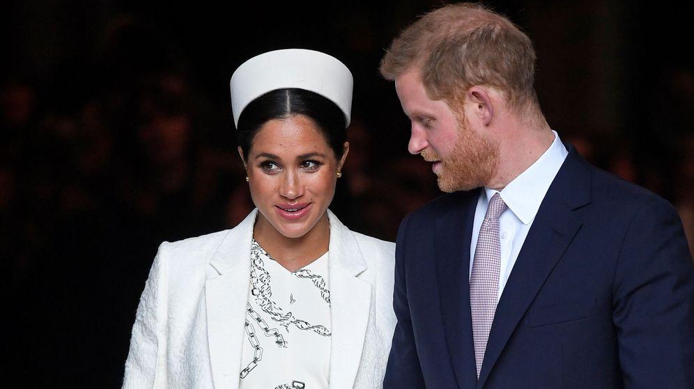 Foto: Meghan y Harry. (Reuters)