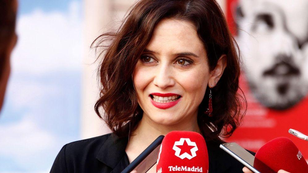 Foto: La candidata a la presidencia de la Asamblea de Madrid, Isabel Díaz Ayuso. (EFE)
