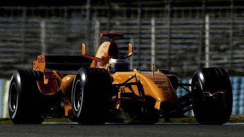 Un McLaren 'naranja', el primer acelerón de una nueva era
