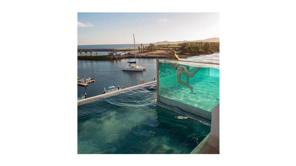Las piscinas más altas del mundo