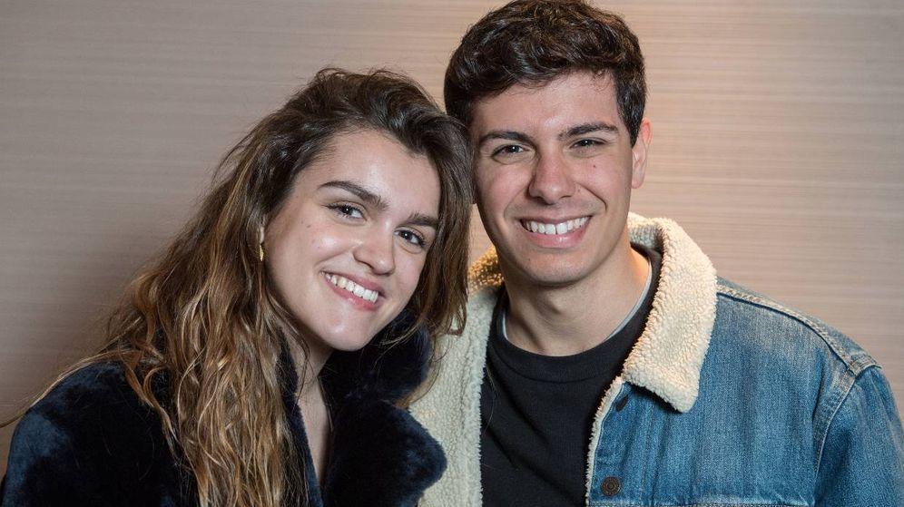 Foto:  Amaia y Alfred, juntos pero no revueltos. (Getty)