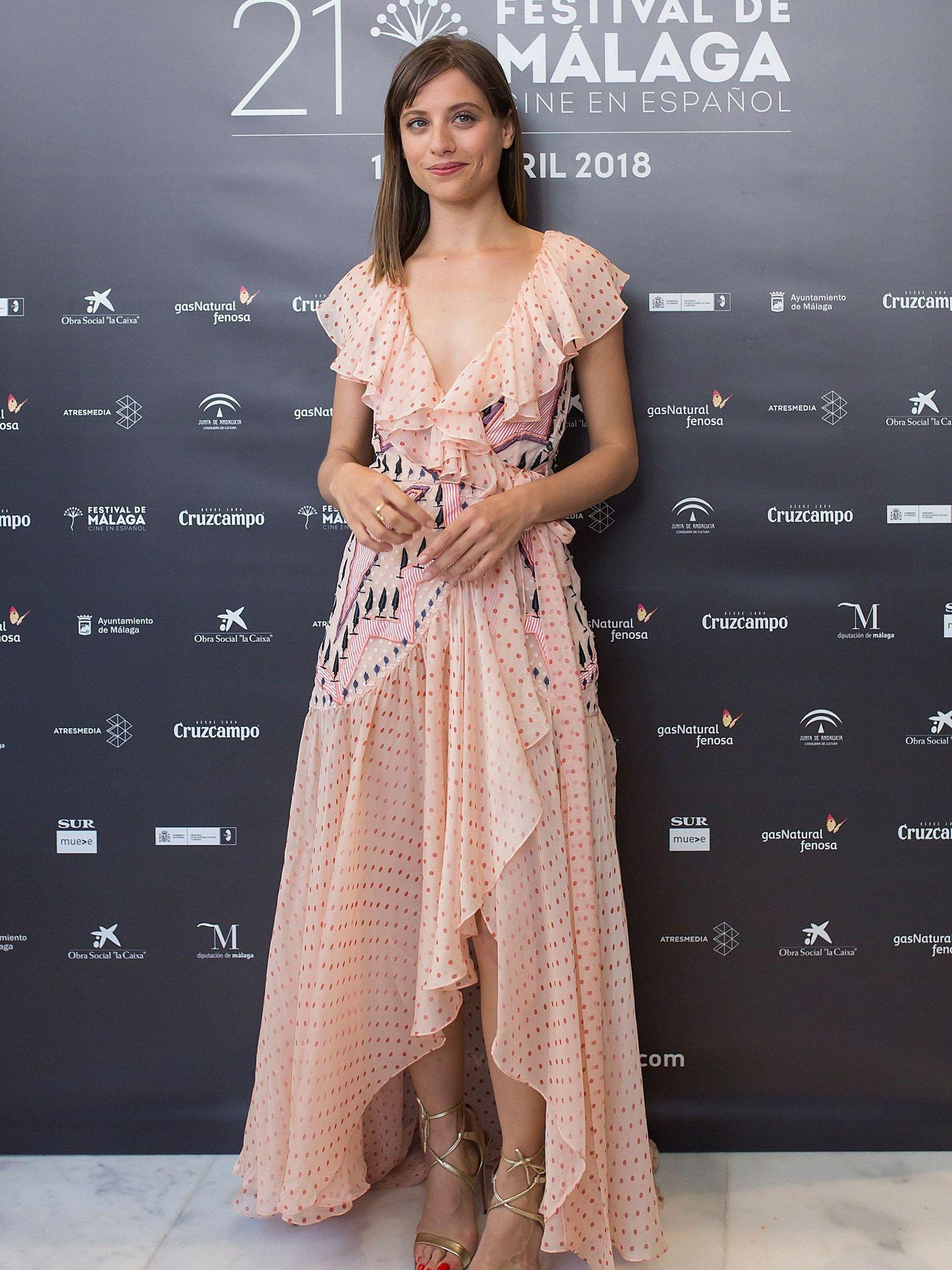 Michelle Jenner en el XXI Festival de Cine en Español de Málaga. (EFE)