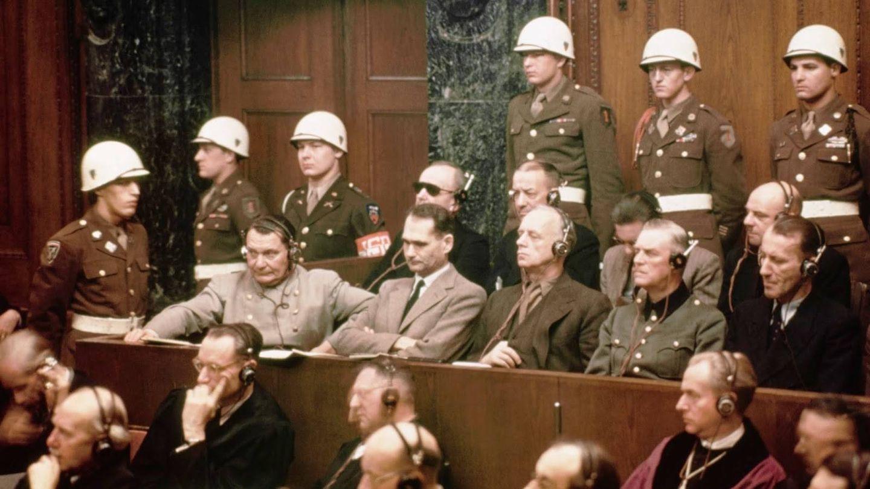 Jerarcas nazis acusados en los Juicios de Núremberg