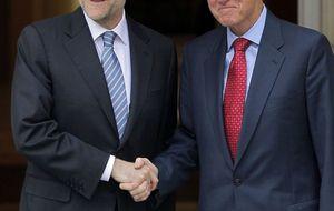 Bill Clinton y Zapatero comparten huevos rotos en Casa Lucio